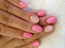 Paznokcie różowe wzory, paznokcie na wesele > GALERIA