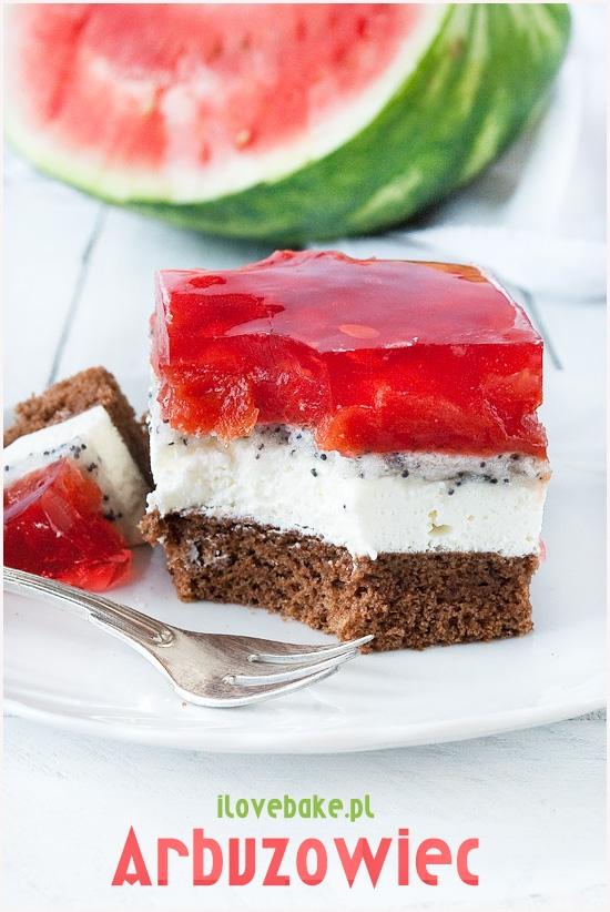 Arbuzowiec, ciasto z arbuzem – przepis