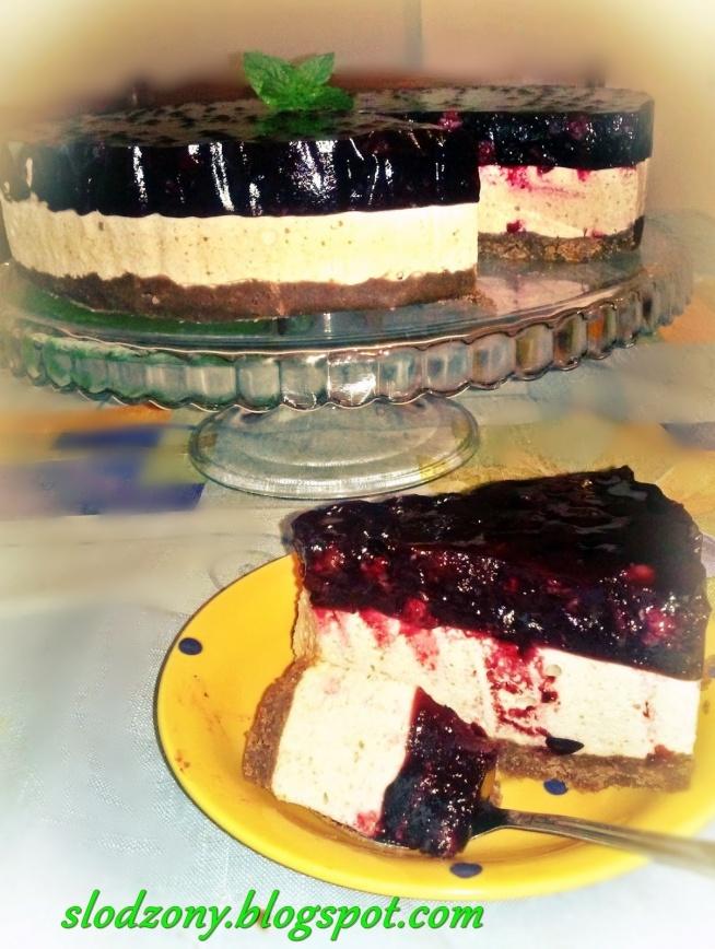 Ciasto markizowo- porzeczkowe bez pieczenia