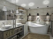 Łazienka w naturalnych barwach