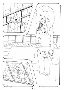 Anioł Ciemności str. 2 PS. Nie wiem jak to, co robię nazywać czy komiksem czu mangą, bo ktoś może to uznać za urazę obu tych gatunków, więc z góry przepraszam