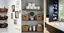 Praktyczne schowki, dzięki którym zyskasz wiele wolnego miejsca w łazience. Zobacz więcej na kobieceporady.pl