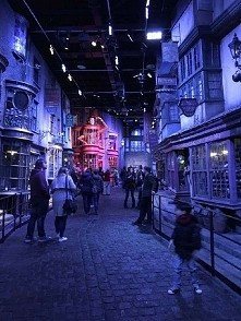 My photo. Making of Harry Potter England!
