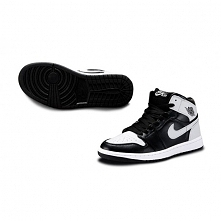 Buty męskie Nike Air Jordan 1 czarno białe. Dostępne na air-jordan.pl