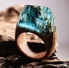 Niezwykłe pierścionki od Canadian Artwork Secret Wood