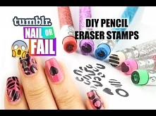 DIY Pencil Eraser Stamps ❤