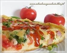 Pizza chłopska z patelni