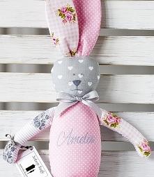 ...króliczek dla dziewczynki o imieniu Amelia ;-)