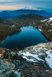 Castle Lake, Mt. Shasta, Ca...