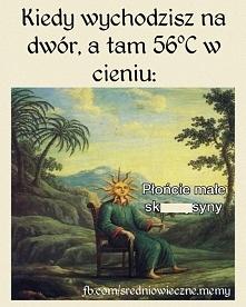 Tak gorąco...