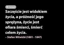 """""""Szczęście...""""  ~Stefan Witwicki"""