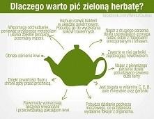 Dlaczego warto pić zielona herbatę?