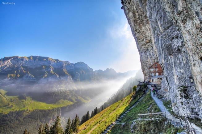 Ebenalp, Szwajcaria