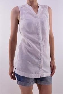Lniana koszula r. 38 - secondhand online.