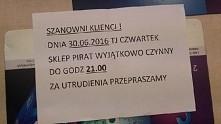 Polska -Portugalia! sklep Pirat kibicuję Polakom! :)