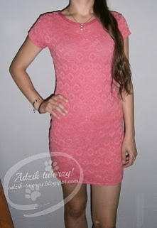 Za długa sukienka z sh to nie problem! Wystarczy ją tylko skrócić. :) Jak to zrobić? Zobaczycie po KLIKnięciu w zdjęcie oraz na adzik-tworzy.blogspot.com