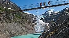 Trift bridge, Szwajcaria
