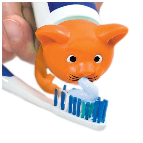 Wesoła nakładka na tubkę pasty do mycia zębów