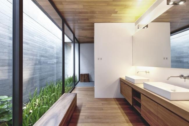 Nowoczesne Wnętrze łazienki Nowoczesna łazienka Design łazien Na