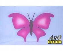 Motyl - Dekoracja Na Ścianę Do Przedszkola, Żłobka, Pokój Dziecięcy
