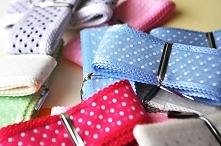 Wstążki dla oszczędnych - w kawałkach. Jeśli nudzi ci się każda tasiemka i nie jesteś w stanie wykończyć całej rolki, to mam tu IDEALNE rozwiązanie! :D