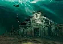 Engulfed City of Shi Cheng,...