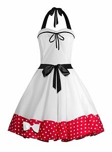 Sukienka rozkloszowana na s...