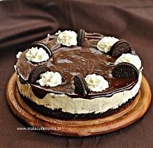 PROSTY SERNIK z ciasteczkami OREO. Przepis po kliknięciu w zdjęcie.