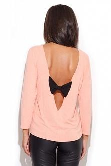Bluzka damska z odkrytymi plecami