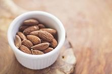 Migdały prażone z kawą i kakao. kliknij obrazek, aby przeczytać przepis na ka...