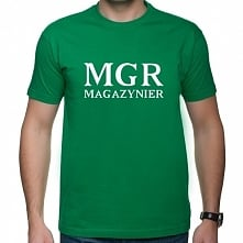 Koszulka MGR - magazynier -...