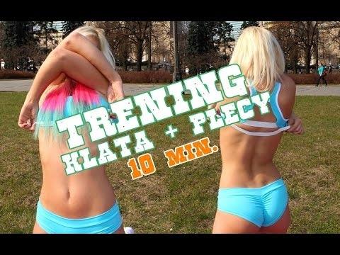 TRENING KLATY I PLECÓW W DOMU - #6 Sexy Hard Workout with Aniela