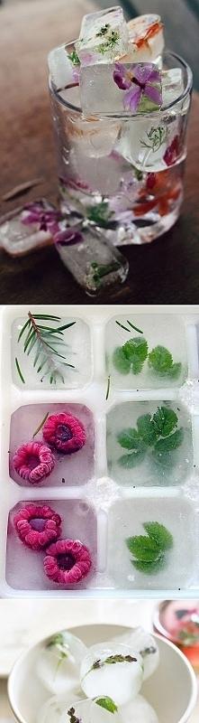 kostki lodu bardziej kreatywne...