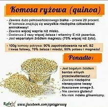 Komosa ryżowa! (quinoa)
