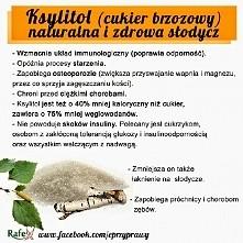 Ksylitol! (cukier brzozowy)