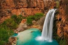 Rajskie wodospady Havasu (Kanion Kolorado, USA)