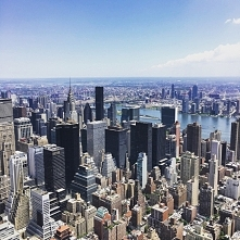 View from Empire State Bldn
