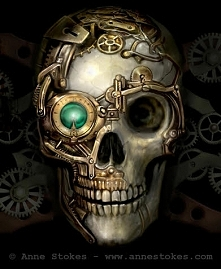 Steamounk Skull