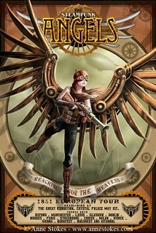 Steampunk Angels poster