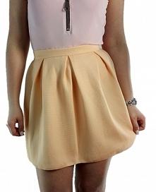 Idealna stylizacja na lato <3 Rozpinane body ze złotym zamkiem, i rozkloszowana spódniczka <3
