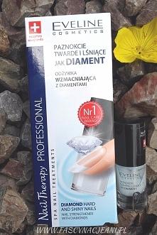 Odżywka wzmacniająca paznokcie od Eveline Cosmetics... działa cuda ;-)
