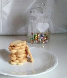 dzisiejsze wypieki, ciasteczka z krupczatki, pierwsze podejście, wyszły pyszne