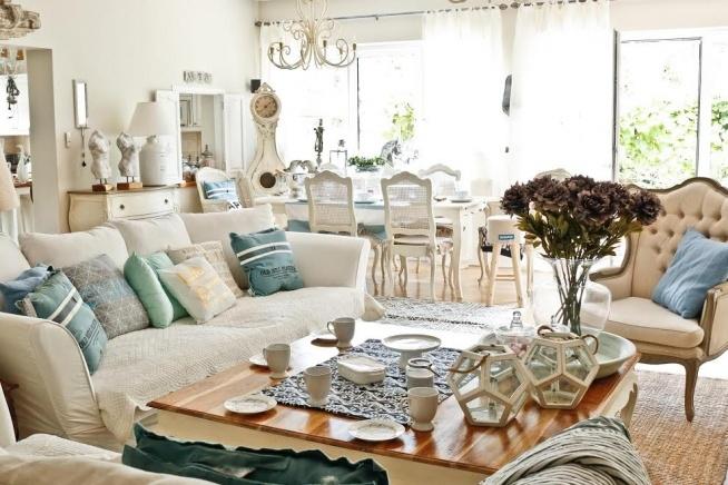 Dekoracje Salonu I Jadalni W Stylu Hampton Artykuły Z