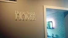 Wieszak na ubrania Home Sweet Home 9 haków