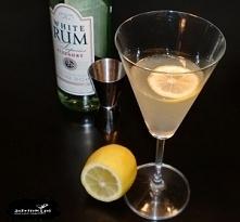 Daiquiri Składniki: 50 ml białego rumu 30 ml soku z cytryny 20 ml syropu cukrowego kostki lodu plasterek cytryny Przygotowanie: Do shakera wrzucamy lód, wlewamy rum, sok z cytry...