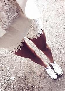 Biały outfit :D