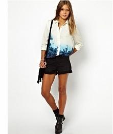 Koszula niebieska ombre w kwiaty. Stylowa i elegancka :) kliknij w zdjęcie a ...