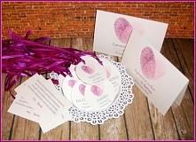 LOVE PRINT DOUBLE: biel-ciepły róż-jagoda :) Na życzenie zawieszki okrągłe  Masz pytania? Pisz! :) kraina_czarow@interia.pl