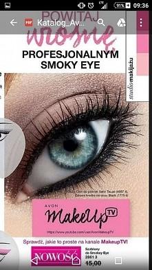 śliczny makijaż oka