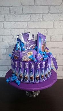 tort na urodziny :)  Milka-OREO :)